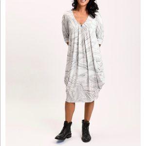 Allison Izu wave bubble dress
